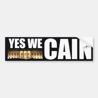 Yes We Cain - Herman Cain for President Bumper Sticker