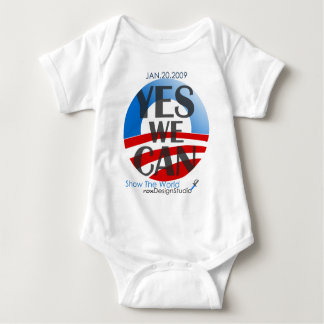 Yes We Can 2 Baby Bodysuit