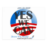 Yes We Can 2 Post Card