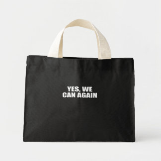 YES, WE CAN AGAIN CANVAS BAGS