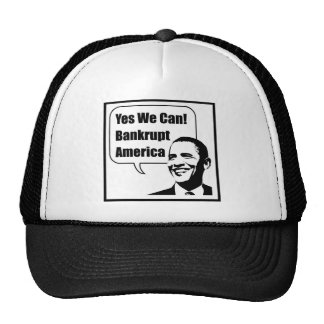 Yes We Can! Bankrupt America Trucker Hat