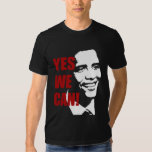 Yes We Can Barack Obama t shirt