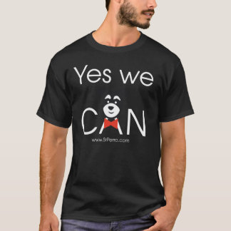 Yes we CAN (Black) Playera