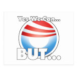 Yes We Can...BUT... Post Cards