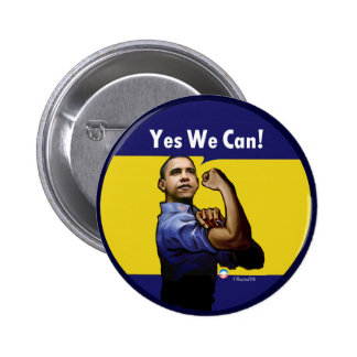 Yes We Can! Button