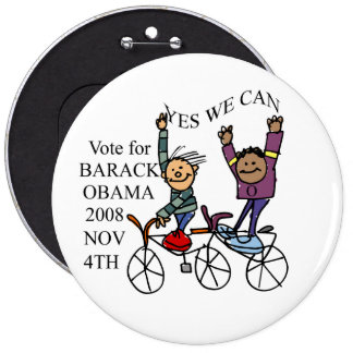 YES WE CAN BUTTONS