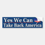 Yes We Can Car Bumper Sticker