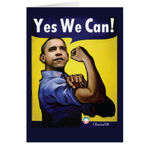 Yes We Can! Card