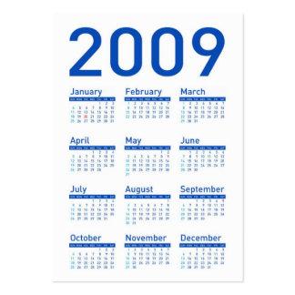 Yes We Can Celebrate - Obama Pocket Calendar Large Business Card