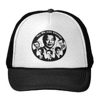 Yes We can Change Prime Minister Noda Trucker Hat