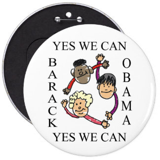 YES WE CAN -CIRCLE OF HOPE PIN