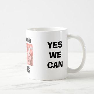 YES WE CAN! COFFEE MUG