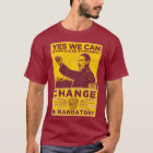 Yes We Can! Comrade Obama Spoof Shirt