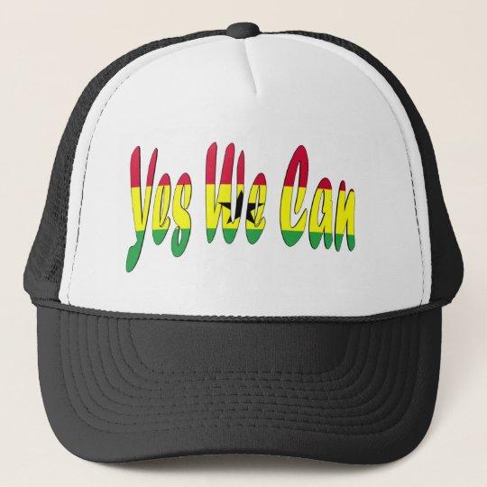 Yes We Can (Ghana Flag) Trucker Hat