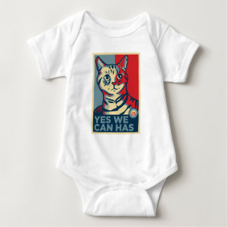 Yes We Can Has Baby Bodysuit