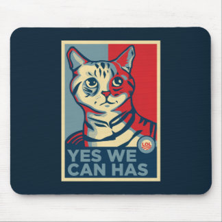 Yes We Can Has Mouse Pad