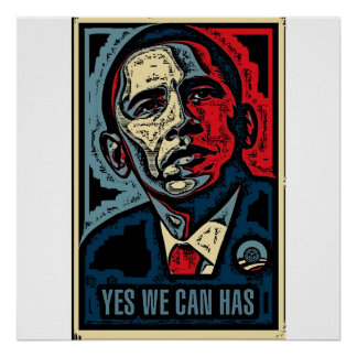 Yes We Can, Has Posters