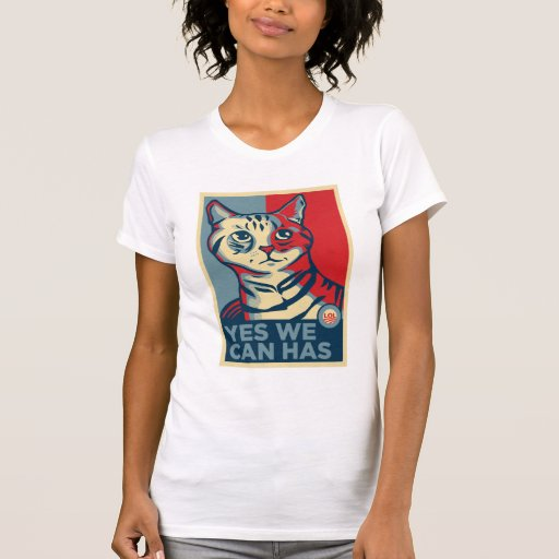 Yes We Can Has Tee Shirt
