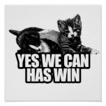 YES WE CAN HAS WIN.png Poster
