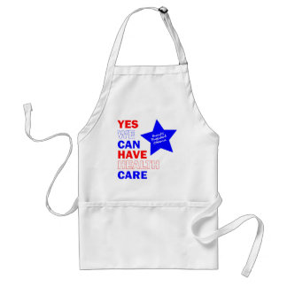 YES WE CAN HAVE HEALTH CARE ADULT APRON