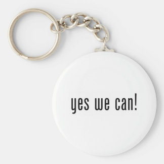 yes we can keychain