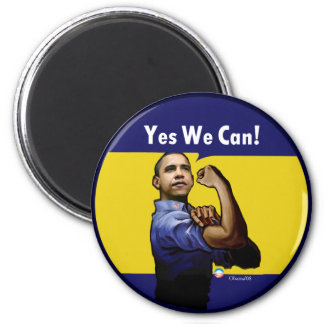 Yes We Can! Magnet