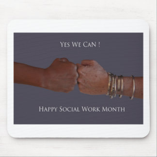 Yes We Can! Mouse Mats