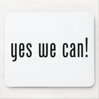 yes we can mouse pad