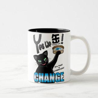 Yes we can(ned food)! Two-Tone coffee mug