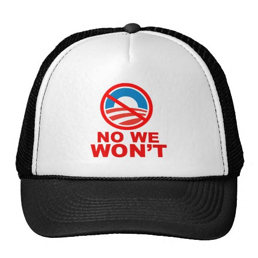 Yes, we can! No, we won't! Trucker Hat