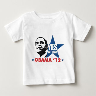 yes we can obama 12 baby T-Shirt