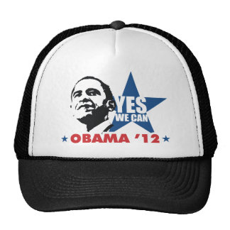 yes we can obama 12 trucker hat