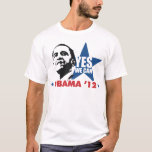 yes we can obama 12 T-Shirt