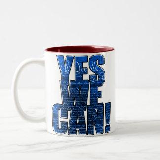 'Yes We Can!' OBAMA 2008 MUG