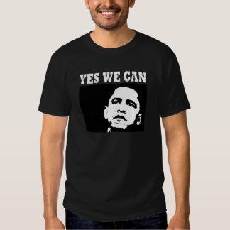 Yes we can Obama 2008 T-shirt