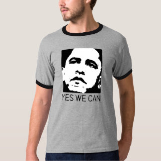 Yes we can Obama 2008 Tee Shirt