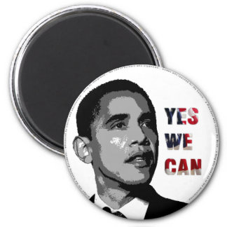 Yes We Can - Obama Political Magnet