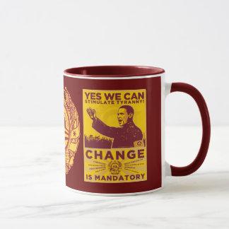 Yes We Can! Obama Spoof Mug