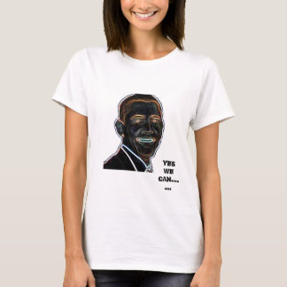 Yes we can Obama tshirt