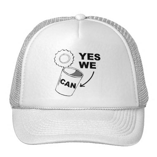 YES WE CAN OF SOUP HAT