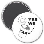 YES WE CAN OF SOUP MAGNETS