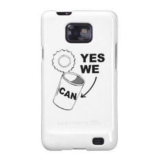 YES WE CAN OF SOUP.png Samsung Galaxy SII Cases