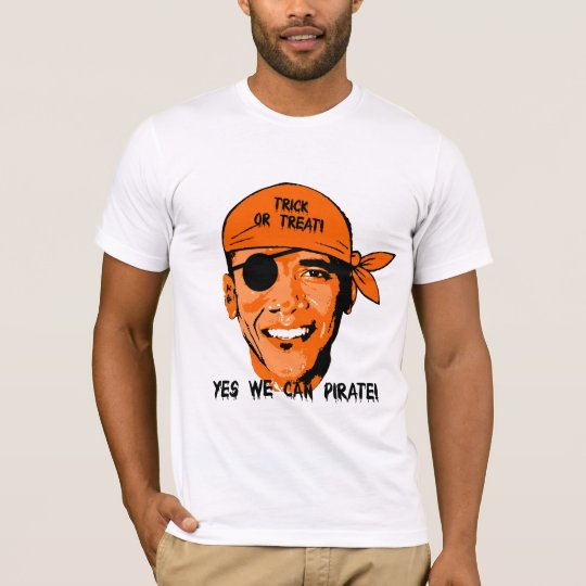 yes we can pirate T-Shirt