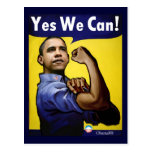 Yes We Can! Postcard