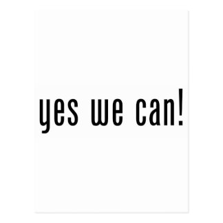 yes we can postcard
