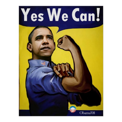 Yes we can poster zazzle for Bett yes we can