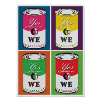 """""""Yes We"""" Can Poster"""