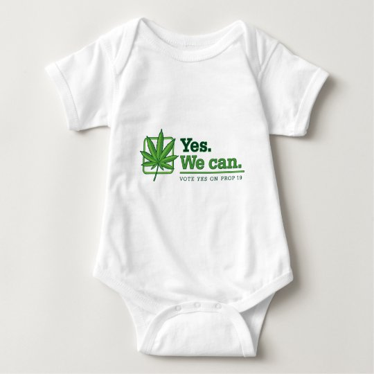 Yes. We can. PROP 19 Baby Bodysuit