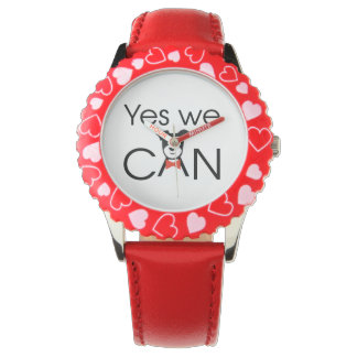Yes We Can Relojes De Mano