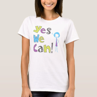 """""""Yes We Can!"""" T-shirt"""
